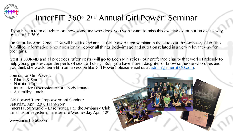 teen girl power seminar